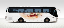JAC 46 Seater luxury county bus tourist bus price of new bus for sale
