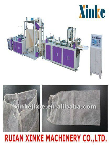 automatic non woven shoes bag making machine