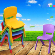 Hotsale cheap colorful kids furniture used preschool stackable chair plastic kids chair
