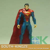 Custom Made Batman Superman Ployester America Anime Prototype Action Figure