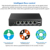 XCY mini pc 4 LAN port j1900 mini itx motherboard firewall brands Pfsense vga mini pc 4 ethernet barebone