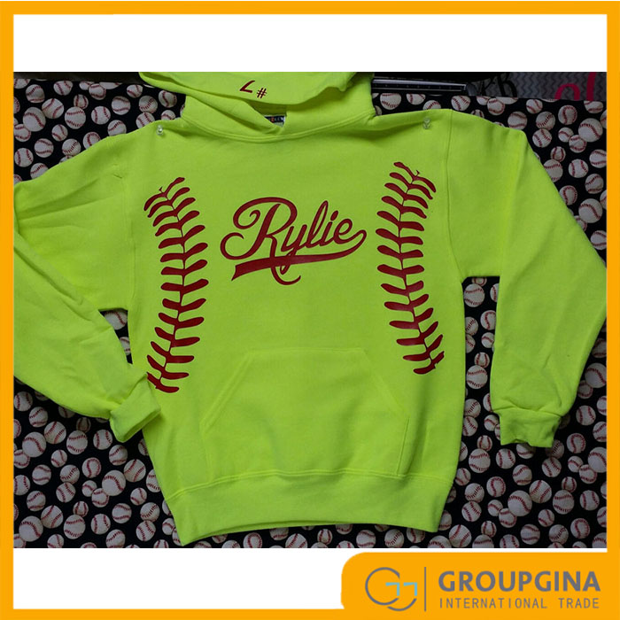 2017 Wholesale New Design Personalized Fashion Students Softball Pullover