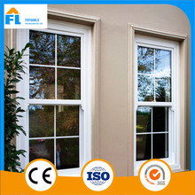 aluminum glass steel top hung sliding window