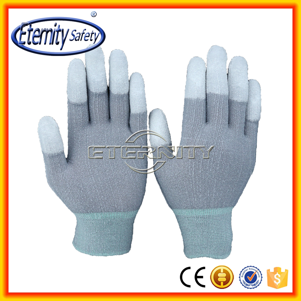 Daily life useful PU palm and finger hand gloves