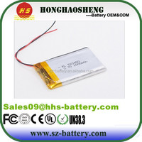 3450 series lipo battery 203450/ 303450/ 403450/ 523450/ 60450/ 703450/ 803450/ lithium polymer