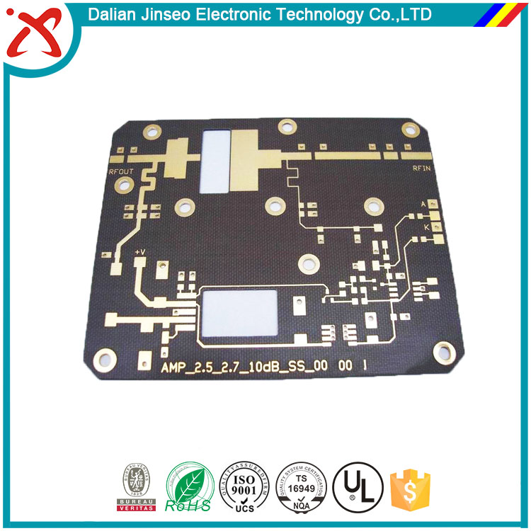 Development design pcb boards single sided rogers 4350b pcb