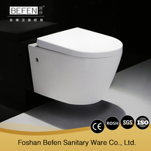 BEFEN ceramic WC rimle wall hung toilet