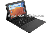 2.4GHz Wireless Keyboard For Samung P7510/7500, PC Wireless Keyboard with PU case