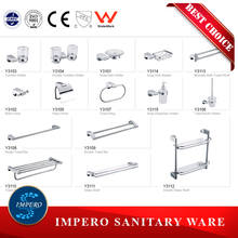 Foshan Sanitary Ware The Best Sales high quality Brass or stainless steel Bathroom Accessory Set