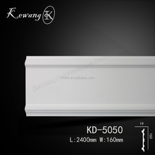 KD-5050 polyurethane pu material ceiling cornice moulding for interior decoration