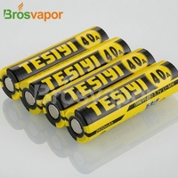 Authentic lithium ion 18650 battery 3.7v 2600mah 40A 18650