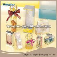 2015 Custom Design Clear Plastic Box , PVC Packaging Box , Plastic Packaging Box