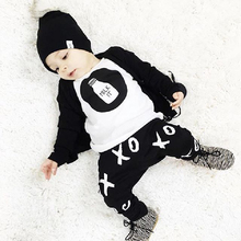 2016 Fashion Children Casual Kids Summer Clothing Sets Toddler Clothes Sets