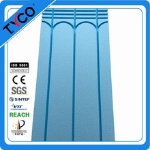 Good price of hydronic radiant floor heating mat with CE certificate