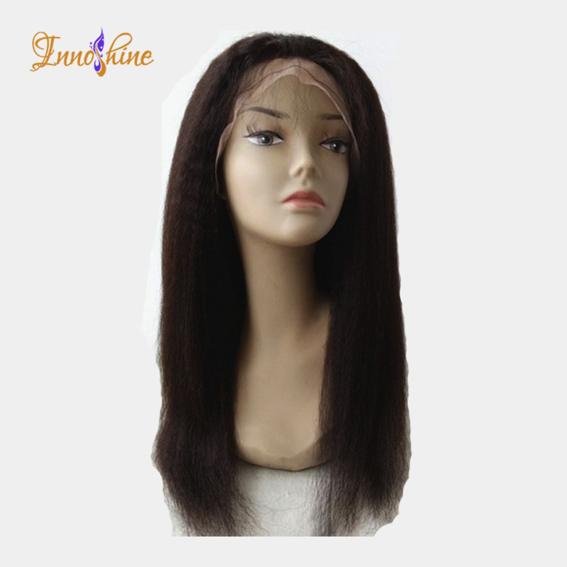 Factory price cheap brazilian hair wig Silk base human hair full lace wig with baby hair