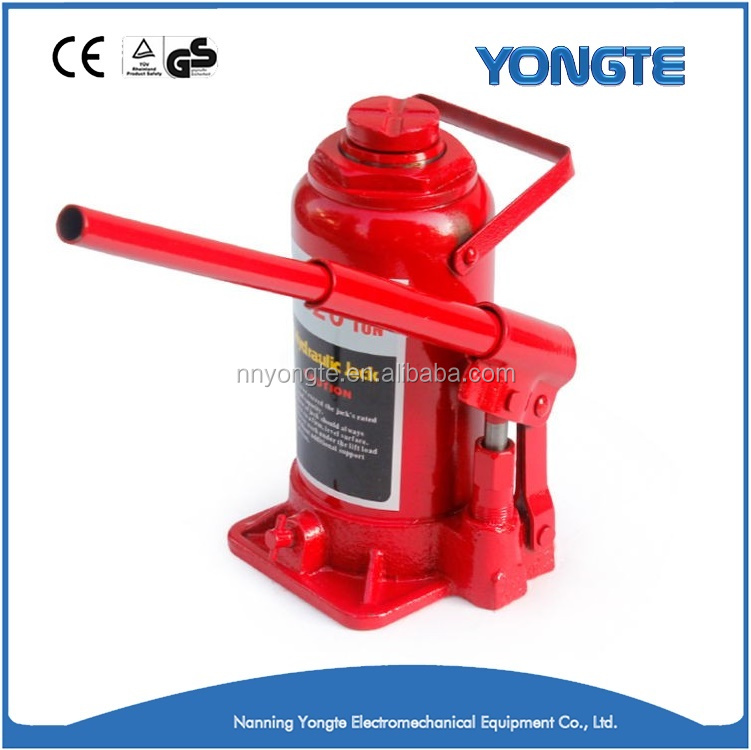 2 to 20 Tons Hydraulic Type Manual Bottle Jack