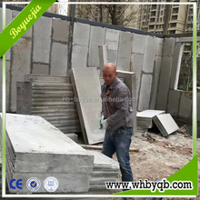 Fast construction design insulated eps cement foam filled concrete wall panels