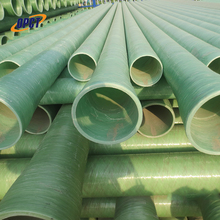 High pressure fiberglass glass fiber reinforced frp plastics mortar pipes