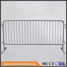High quality galvanized Used crowd control barrier for bike rack fence