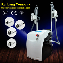 CE! 6 in 1 Criolipolisis cool tech fat freezing machine/portable home use liposuction cavitation machine