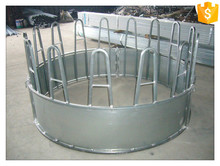 galvanized metal cattle hay feeder/livestock bale feeder