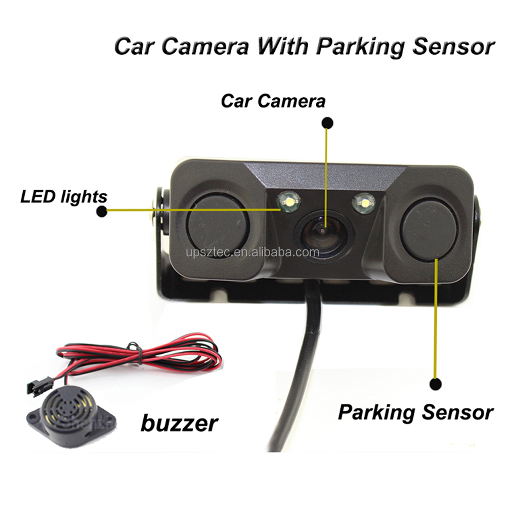 Parts & Accessories Systematic Universal Car Rear Forward Side View Parking Reverse Backup Camera Night Vision
