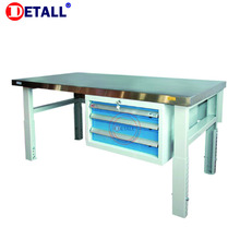 Detall. New Designs Stainless Steel Workbench Top