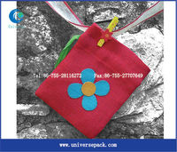 Fashional mini jute bag for birthday gift