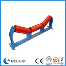 127mm diameter dust proof labyrinth seal conveyor transition roller made in china