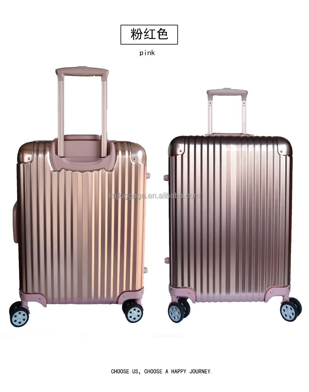 aluminum us polo price cabin wheeled carry polo trolley luggage with secret compartment