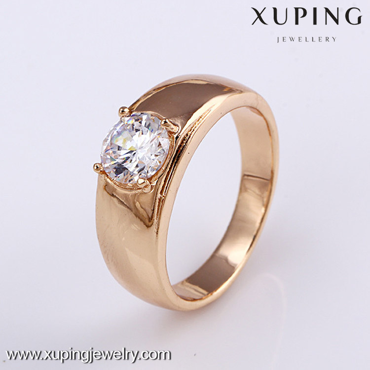 11823 Sexy desgin latest18k gold muslim wedding ring
