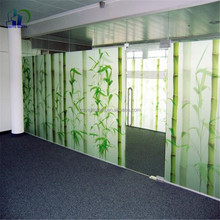 4mm 6mm living room glass partition tempered glass decorative glass panels