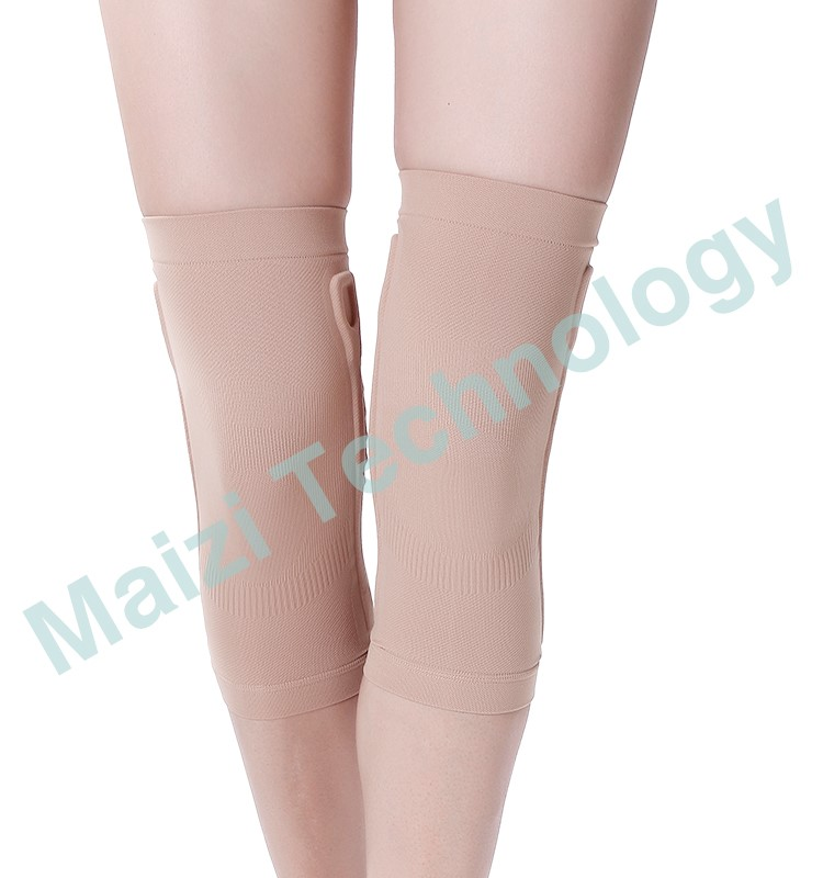 Elastic knee sleeve with support bar FDA certificate