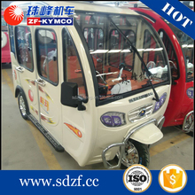 Small solar electric tricycle for elderly passenger