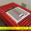 Wholesale farming equipment design plastic transport coop chicken cage for sale