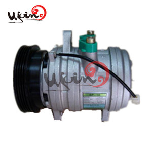 Discount ac compressor for hyundai atoz brand new for Hyundai Atoz 97701-02310 HS 11 120mm 4PK 1997-2005