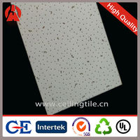 Good quality Low density 600X600 Fissured Suspended ceiling tiles