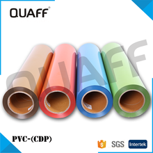 QUAFF T-shirt film PVC heat transfer vinyl best price for selling