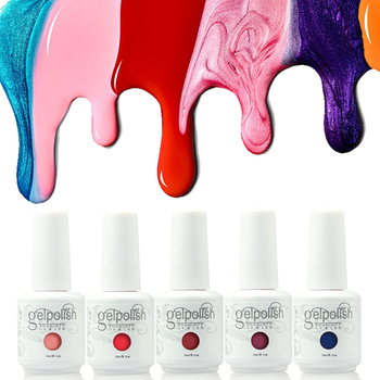 China cosmetic manufactory nails polish colour uv gel color gel polish