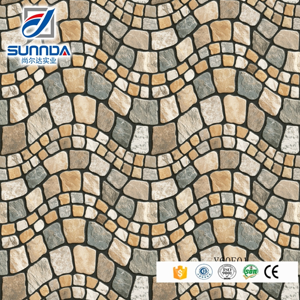 Good look for outdoor rustic floor tiles,rough surface porcelain tile,imitation stone floor tiles