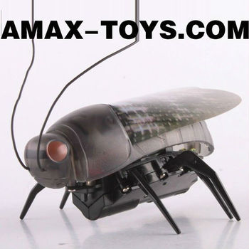 rm-445775 rc insect high speed remote control mini stunt fluorescent beetle