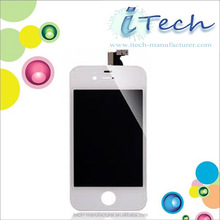 lcd connector for iphone 4 mirror pink lcd with touch screen