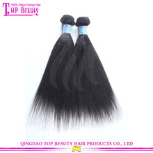 No shedding 100% chinese remy human hair extension 16 inches yaki straight 100 chinese remy hair extension