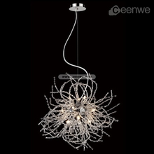 New ceiling lamps chrome artistical decorative crystal ceiling lamps