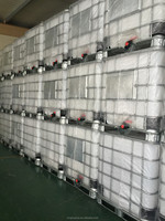 1000l used refrigerated ibc plastic container for sale