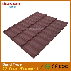 China Roof Tile Stone Coated Metal Roof Tile Traditional Style for Roofing System/Waterproof Roof