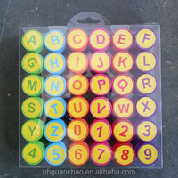 High Quality Rubber Stamp Alphabet For