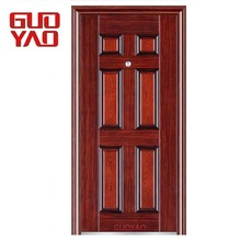 Good quality new models main entry front single steel security door iron gates design