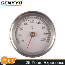 Water heater temperature gauge dial thermometer steam oil temperature gauge