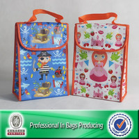 Outdoor fitness nonwoven aluminum decorative lunch bags for kids can pass FDA testing